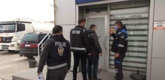 Kırıkkale: Son dakika haber... Kırıkkale'de, 'Silici' operasyonunda 2 akaryakıt istasyonu arandı