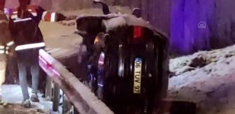 Edirne: Ümraniye'de trafik kazası