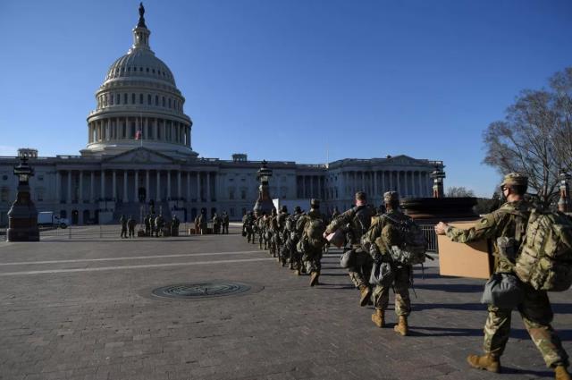 ABD'de Joe Biden'ın yemin töreni öncesi görülmemiş tedbirler alındı: 25 bin tam teçhizatlı asker görev yapacak