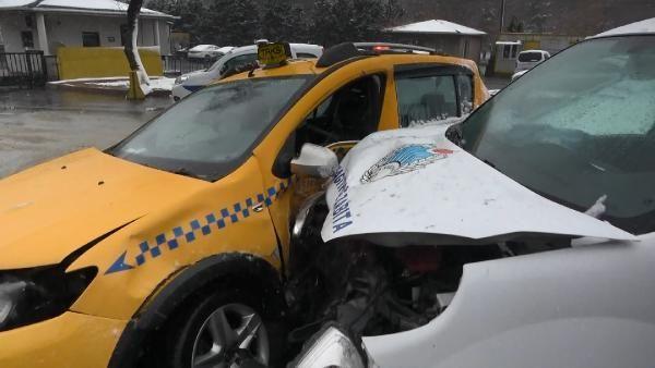 Son dakika haberleri! Kağıthane'de trafik kazası: 1 yaralı