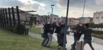 Sefaköy: Küçükçekmece'de kavgayı ayırmak isteyen kadın yumruğu yedi