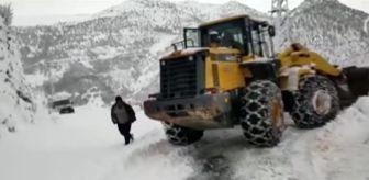 Şırnak: Kar yağışı hayatı olumsuz etkiledi