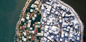 Venedik: Türkiye'nin Venedik'i Gölyazı'nın yaz ve kış hali aynı karede