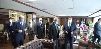 Mehmet Yiğiner: ANKESOB Başkanı Yiğiner'den, Başkan Demirbaş'a ziyaret