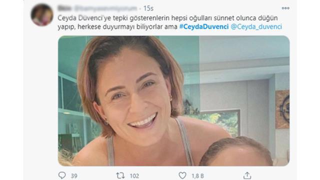 Ceyda Düvenci'nin kızı ile ilgili yaptığı 'Regl' paylaşımı sosyal medyada gündem oldu