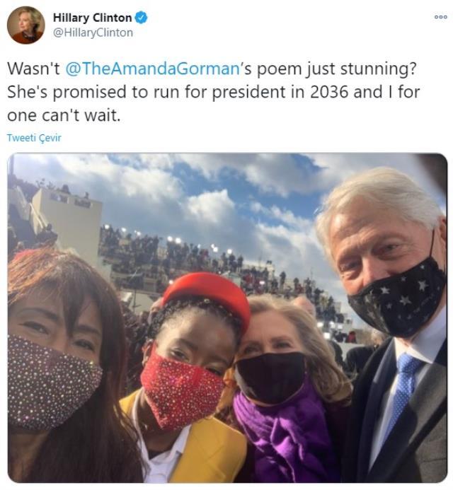 Biden'ın yemin töreninde şiir okuyan Amanda Gorman, bir gecede milyonlarca takipçiye ulaştı