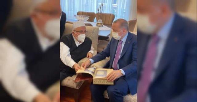 Cumhurbaşkanı Erdoğan'ın Milli Görüş'ün saygın ismi Doç. Dr. Nedim Urhan ile sessiz sedasız görüştüğü ortaya çıktı