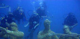 Yunan Mitolojisi: Side Sualtı Müzesi'ne, 6 yılda 70 bin kişi daldı