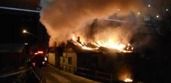 Recep Özcan: GÜMÜŞHANE - Çıkan yangında bir ev kullanılamaz hale geldi