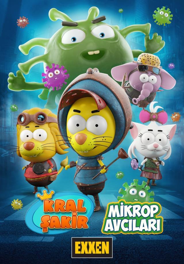 Kral Şakir'in yeni filmi Mikrop Avcıları, Exxen'de yayınlanacak