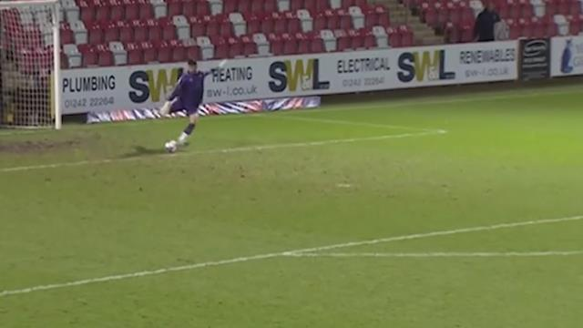 Goal scored by Newport County goalkeeper Tom King entered the Guinness Book of Records