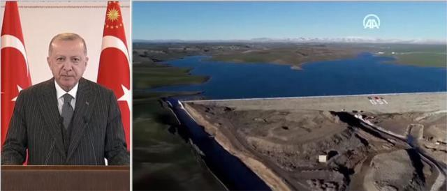Cumhurbaşkanı Erdoğan'dan kuraklık mesajı: 2023'e kadar 150 yeraltı barajını tamamlamayı hedefliyoruz