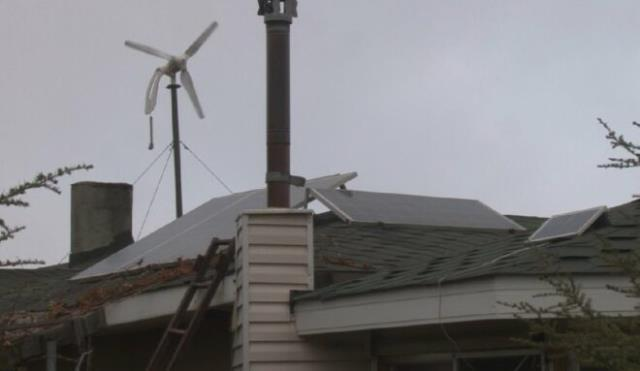 Kurduğu sistem sayesinde 8 yıldır elektriğe tek kuruş para ödemiyor