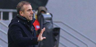 Abdullah Avcı: Trabzonspor Teknik Direktörü Abdullah Avcı: Pereira bundan sonra bizimle olmayacak