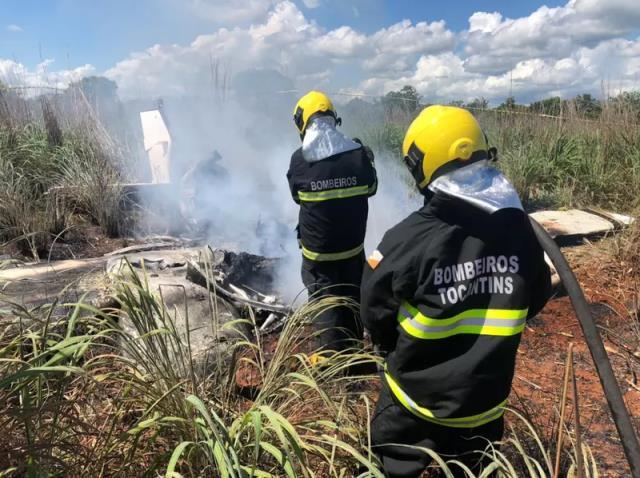 Brezilya takımı Palmas başkanı ve 4 futbolcuyu taşıyan uçak düştü! Kurtulan olmadı