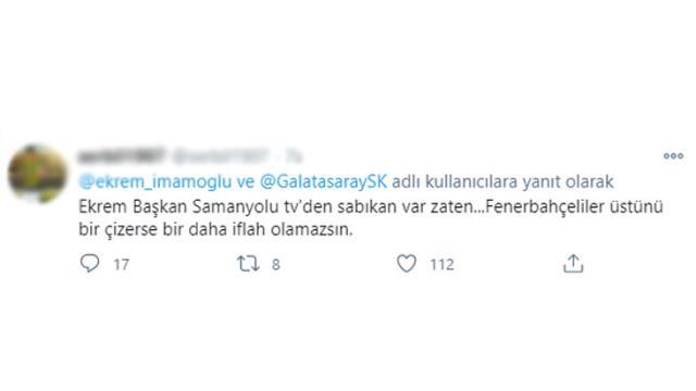 Ekrem İmamoğlu'nun Galatasaray bağış kampanyası Fenerbahçeli taraftarları kızdırdı