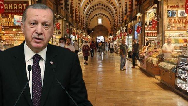 Esnaftan Cumhurbaşkanı Erdoğan'a 6 maddelik öneri paketi