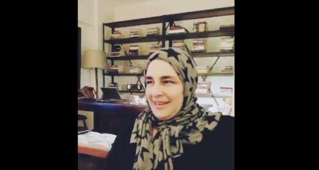 Bir Zamanlar Çukurova'nın Behice'si Esra Dermancıoğlu başını örtüp, Arapça konuştu