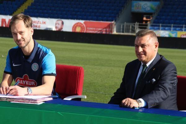 Çaykur Rizespor'da Erik Sabo ve Damjan Dokovic imzaladı
