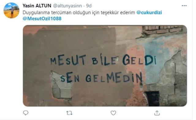 Fenomen dizi Çukur, Fenerbahçe'nin Mesut Özil transferine gönderme yaptı