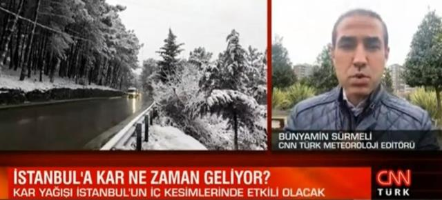 İstanbul'da kar yağışı yarın öğleden sonra etkili olacak! İşte beyaz örtü yapacağı ilçeler