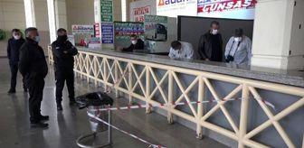 Celal Özmen: Son dakika haberi... Otobüs terminalinin kullanılmayan bilet gişesi altında ölü bulundu
