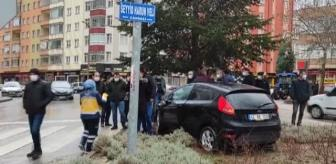 Milli Egemenlik Caddesi: Seydişehir'de trafik kazası: 2 yaralı