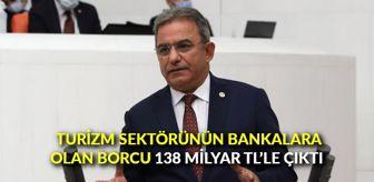 Çetin Osman Budak: Turizm sektörünün bankalara olan borcu 138 milyar TL'le çıktı