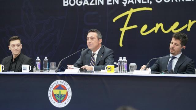 Ali Koç, imza töreninde Mesut Özil transferinin tüm detaylarını anlattı ve Acun Ilıcalı'ya teşekkür etti