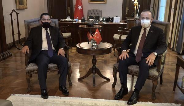 Dışişleri Bakanı Çavuşoğlu, Kanadalı mevkidaşı ve Afganistan Ulaştırma Bakanıyla görüştü