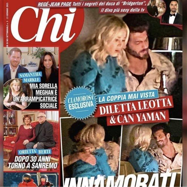 Can Yaman ve Diletta Leotta aşk sarhoşu! Yeni görüntüleri ortaya çıktı