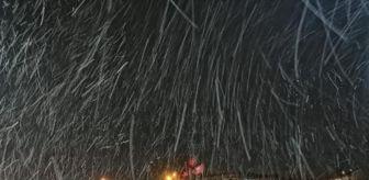 Samet Avcı: Silivri'de kar yağışı sürüyor