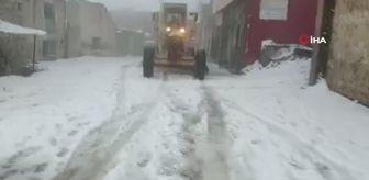 Savur: Mardin Büyükşehir Belediyesi'nden karla mücadele çalışmaları