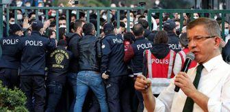 Arbede: Boğaziçi'ndeki gözaltılara tepki gösteren Davutoğlu, sorunların çözümü için yol gösterdi