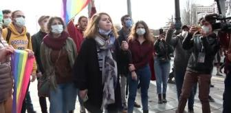 Arbede: Boğaziçi Üniversitesindeki olaylara destek için düzenlenen izinsiz gösteride 69 kişi gözaltına alındı