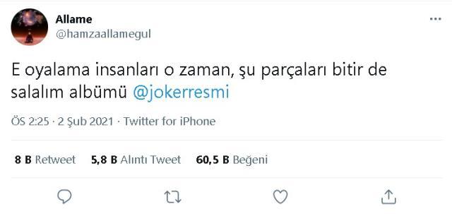 Joker ve Allame barıştı mı? Yeni albüm ne zaman çıkacak? Türkçe Rap Joker ve Allame barıştı mı, küs müydü, neden küsmüşlerdi?
