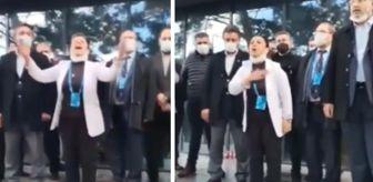 Kadem Mete: AK Parti kongresinde kriz! Adaylığı kabul edilmeyince salonun önünde sesi kısılana kadar bağırdı