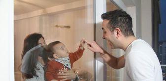 Balcalı Hastanesi: Camın arkasından sevdiği bebeğiyle birlikte koronayı yenen doktor: Hala tedirgin oluyorum