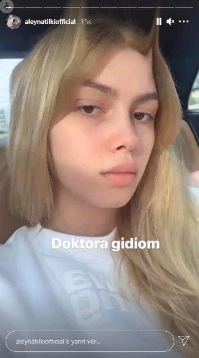enç şarkıcı Aleyna Tilki hastanelik oldu