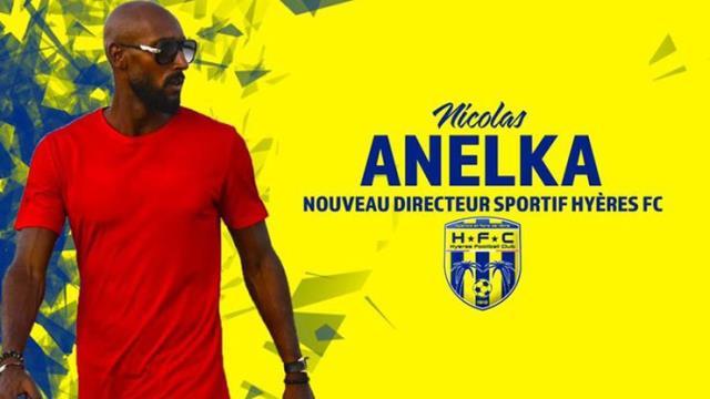 Eski Fenerbahçeli Anelka, Hyeres'in sportif direktörü oldu