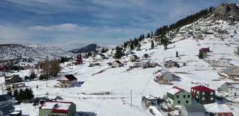 Tirebolu: Doğu Karadeniz'de kar özlemi çekenlerin uğrak yeri Sis Dağı Yaylası oldu