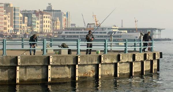 Haliç'teki olta balıkçıları: Balıklar yasağa uydu, biz uymadık