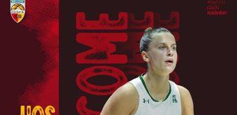 Basketbolcu: Bellona Kayseri Basketbol, Kitija Laksa'yı transfer etti