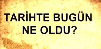 Ömer Çavuşoğlu: Tarihte bugün ne oldu? 8 Şubat tarihinde ne oldu, kim doğdu, kim öldü, hangi önemli olaylar oldu? İşte, 8 Şubat'ta yaşananlar!