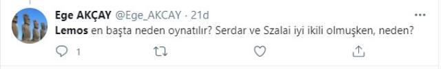 Başakşehir maçında kırmızı kart gören F.Bahçeli Lemos'a taraftardan tepki yağdı