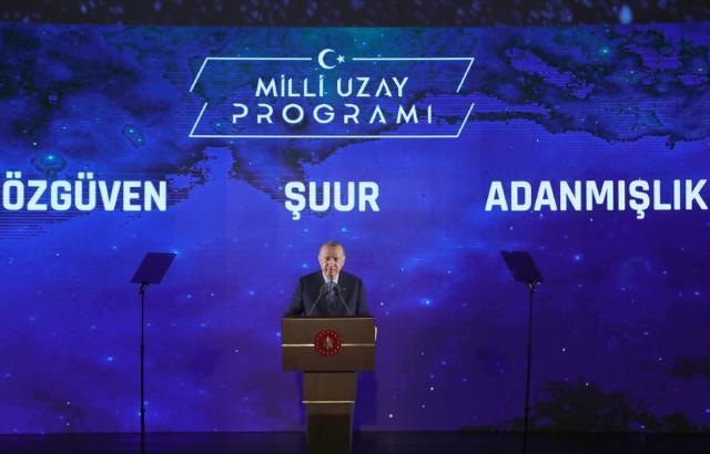 Milli Uzay Programı'ndaki 10 hedefi tek tek sıralayan Cumhurbaşkanı Erdoğan: Birincil hedefimiz 2023'te Ay'a gitmek