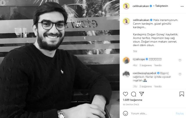 Trafik kazasında yakın arkadaşını kaybeden Celil Nalçakan, ölüm haberiyle yıkıldı
