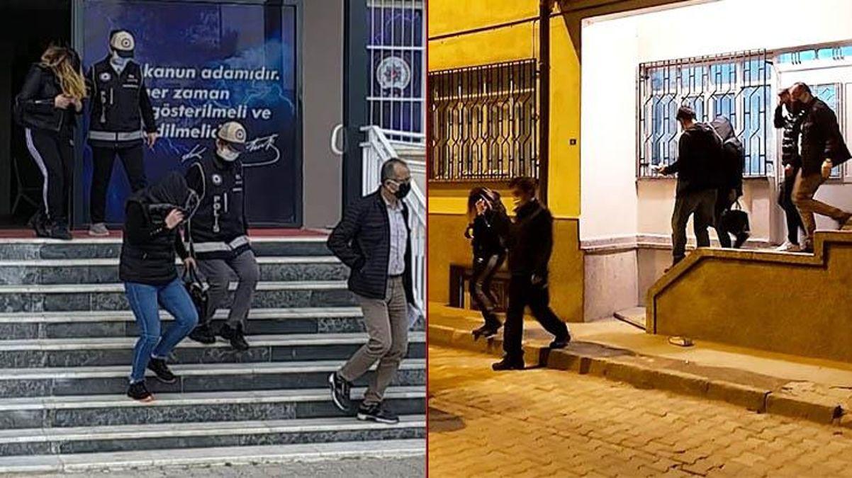 Fuhuş evine polis baskını: Müşteri isimlerini ve günlük kazançlarını tek tek not etmişler