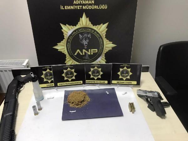 Son dakika haberi | Adıyaman'da uyuşturucu operasyonu: 4 gözaltı