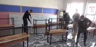 Emirseyit: Köy okulları yeniden yüz yüze eğitime hazırlanıyor